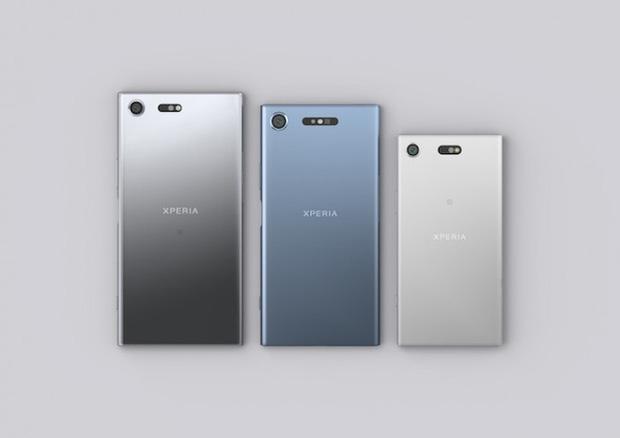 Xperia XZ Premium, XZ1 và XZ1 Compact