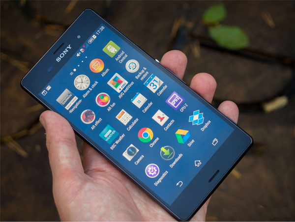 Hình ảnh hiển thị sắc nét trên Sony Xperia Z3 2 SIM