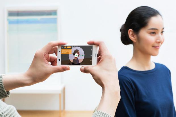 XZ1 Compact sở hữu camera Motion Eye tương tự như XZ1, hỗ trợ quay slow-motion 960fps và quét vật thể 3D