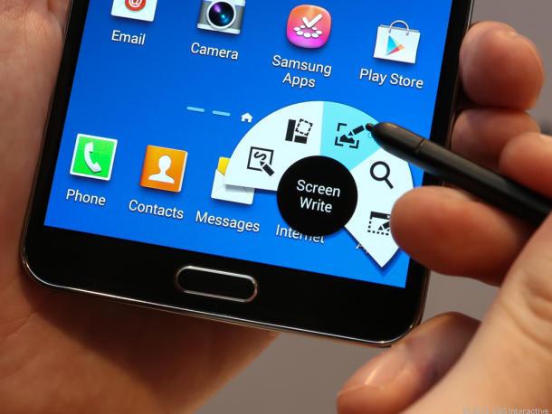 Samsung Galaxy Note 3 (hay Galaxy Note III) với S Pen